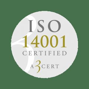 Retendo Business – ISO 14001 Certified