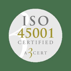 Retendo Business – ISO 45001 Certified